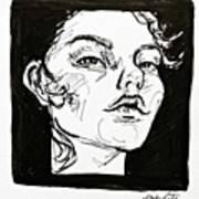 Sketchbook Scribbles Art Print