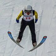 Ski Jumper 3 Art Print