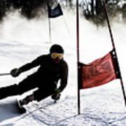 Ski Racer 2 Art Print
