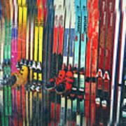Ski Sun Valley Art Print