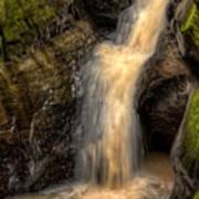 Skillet Creek Into The Deep Pool Art Print