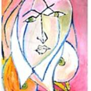 Skinning.2010. Art Print