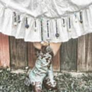 Skirts And Dangles Art Print