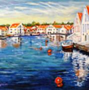 Skudeneshavn Norway Art Print