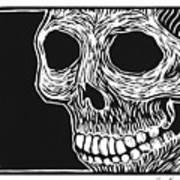 Skull Aware Art Print