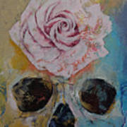 Rose Art Print by Michael Creese
