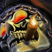 Skull Project Art Print