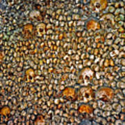 Skulls And Bones Under Paris Art Print