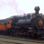 Skunk Train No 45 Fort Bragg California Art Print
