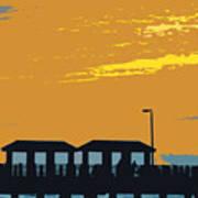 Sky And Pier Art Print