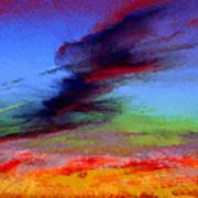 Sky Blastin Art Print