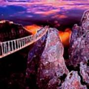 Sky Bridge Art Print