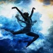 Sky Dancer 1 Art Print
