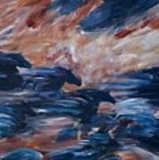 sky herd II Art Print