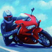 Sky Pilot - Honda Cbr600 Art Print