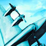 Sky Plane Art Print