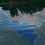 Sky Pond Art Print