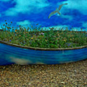 Skyboat Art Print