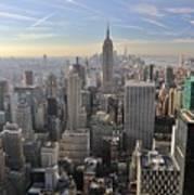Skyline New York City  Art Print