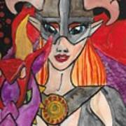 Skyrim Queen Art Print