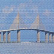 Skyway Bridge Art Print