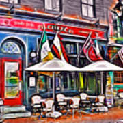 Slainte Irish Pub And Restaurant Art Print