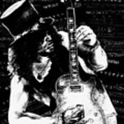 Slash Art Print by Kathleen Kelly Thompson