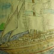 Slave Ship Art Print