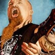 Slayer King Art Print