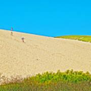 Sleeping Bear Dune Climb In Sleeping Bear Dunes National Lakeshore-michigan Art Print