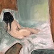 Sleeping In The Nude Art Print