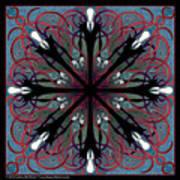 Slendermandala 2 Art Print