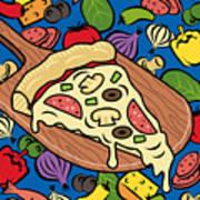 Slice Of Pie Art Print