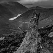 Slievenaglogh To Ben Crom. Art Print