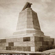 Sloat Monument On The Presidio Of Monterey Circa 1910 Art Print