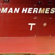 Sloman Hermes Detail With Anchor 051718 Art Print