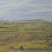 Slope County Splendor Art Print