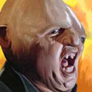 Sloth From Goonies Art Print by Brett Hardin