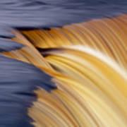 Slow Motion Waterfall Art Print by Romeo Koitmae
