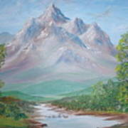 Slumber Mountain Art Print