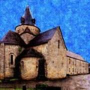 Small Church 1 Art Print