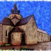 Small Church 2 Art Print