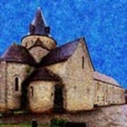Small Church 3 Art Print