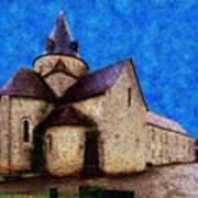 Small Church 4 Art Print