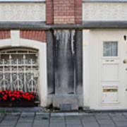 Small Door And Flower Box  Amsterdam Art Print