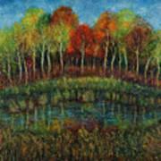 Small Lake. Art Print
