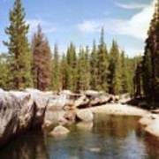 Small Lake Sierra Nevada Art Print