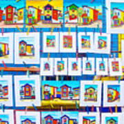 Small Paintings For Sale In La Boca Area Of Buenos Aires-argentina  Art Print