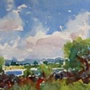 Small Riverside Art Print