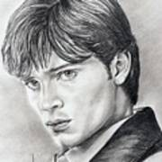Smallville  Tom Welling Art Print